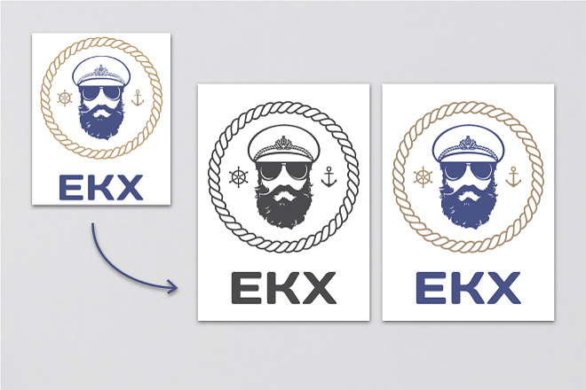 Логотип по вашему эскизу 19 - kwork.ru