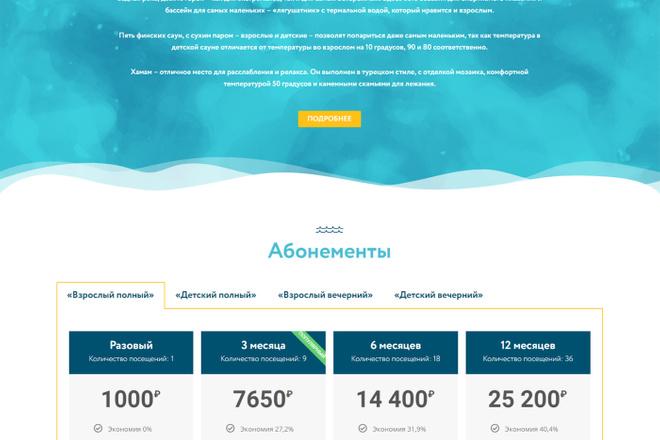 Адаптивный сайт на Wordpress под ключ 9 - kwork.ru