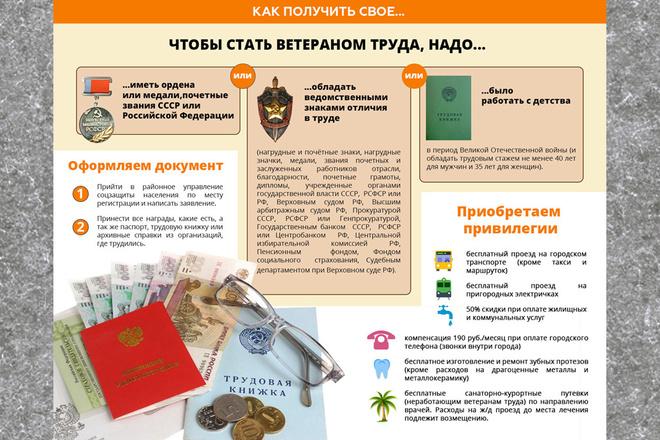 Нарисую инфографику 15 - kwork.ru