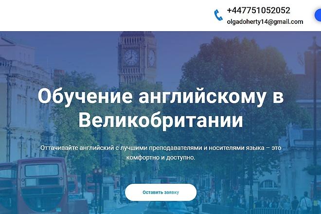 Создание сайта - Landing Page на Тильде 70 - kwork.ru