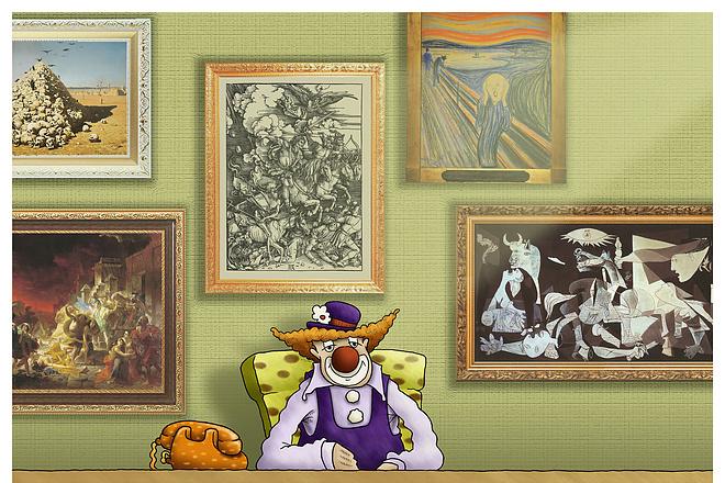 Нарисую карикатуру или ироническую иллюстрацию к тексту 8 - kwork.ru