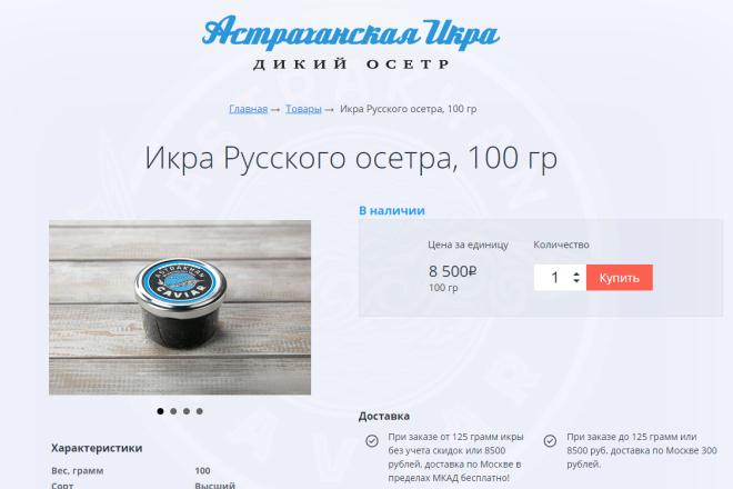 Внесу правки на лендинге.html, css, js 11 - kwork.ru
