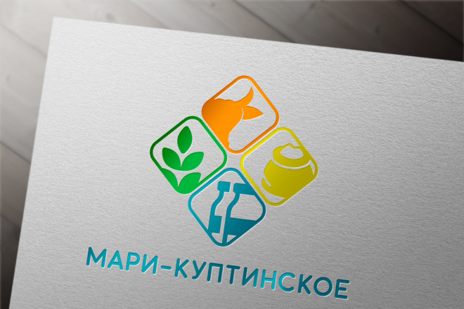 Эффектный логотип 21 - kwork.ru