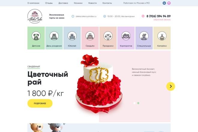 Разработка интернет-магазина на Wordpress под ключ на премиум шаблоне 11 - kwork.ru