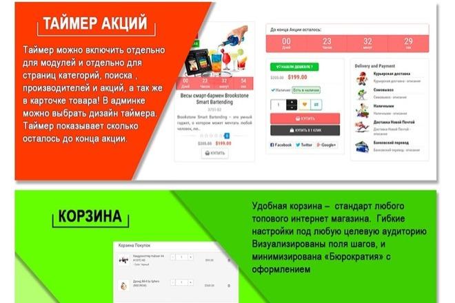 Создание интернет-магазина на CMS OpenCart, OcStore под ключ 2 - kwork.ru