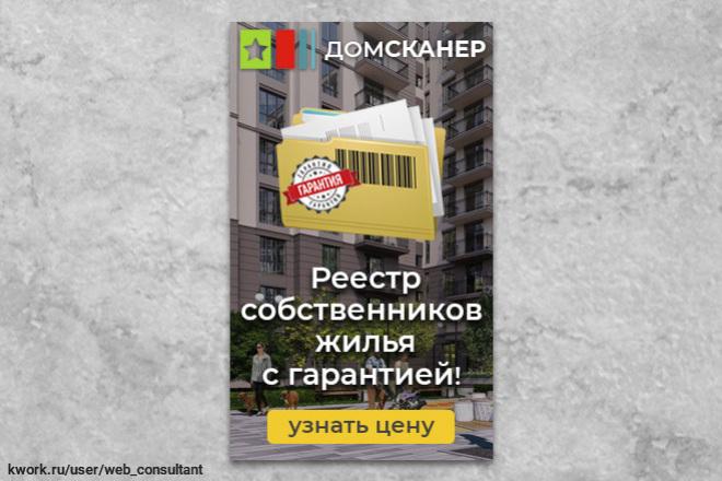 Баннер статичный 19 - kwork.ru