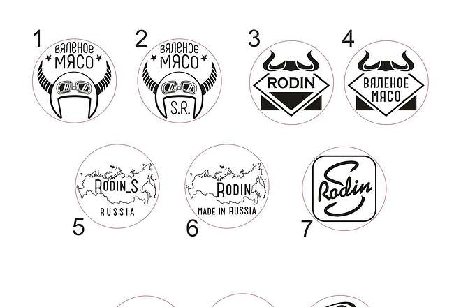 Дизайн печати, штампа в векторном формате 5 - kwork.ru