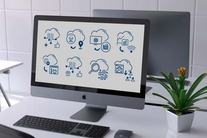 Нарисую иконки для сайта 43 - kwork.ru