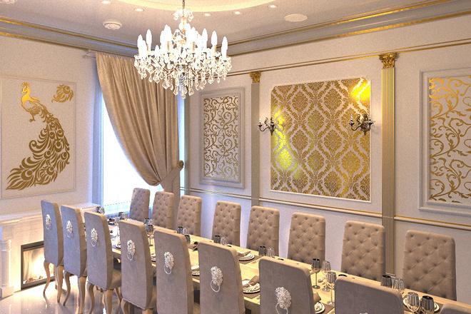 Создам визуализацию банкетного зала 3 - kwork.ru