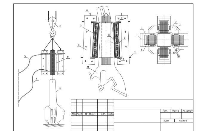 Чертежи в AutoCAD, оцифровка чертежей, исполнительная документация 18 - kwork.ru