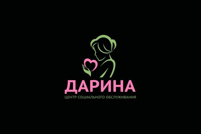 Сделаю логотип по вашему эскизу 42 - kwork.ru