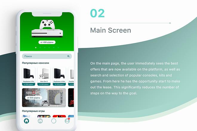 Дизайн мобильного приложения UI UX 13 - kwork.ru
