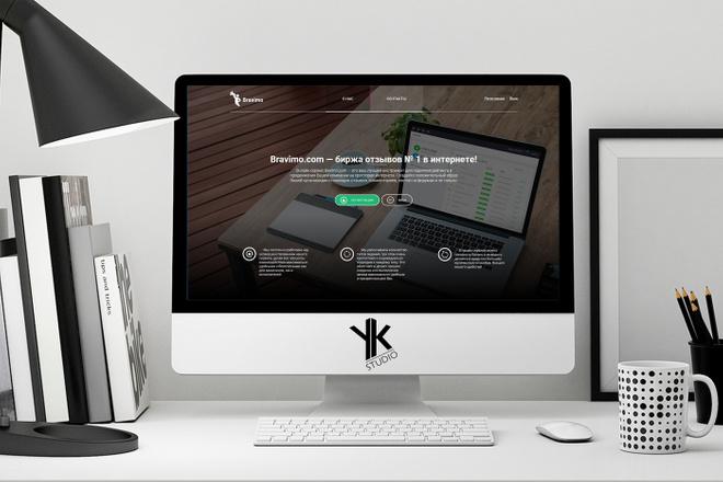 Лендинг под ключ, крутой и стильный дизайн 37 - kwork.ru