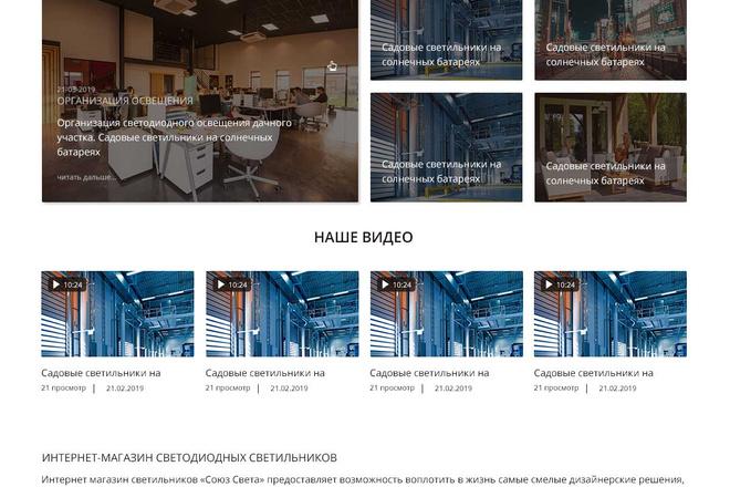 Уникальный дизайн сайта для вас. Интернет магазины и другие сайты 170 - kwork.ru