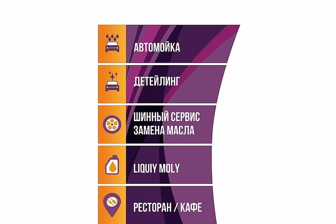 Дизайн для наружной рекламы 91 - kwork.ru