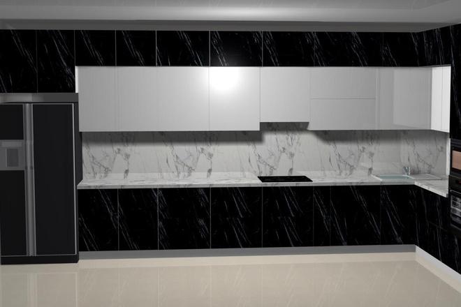 Создам 3D дизайн-проект кухни вашей мечты 4 - kwork.ru