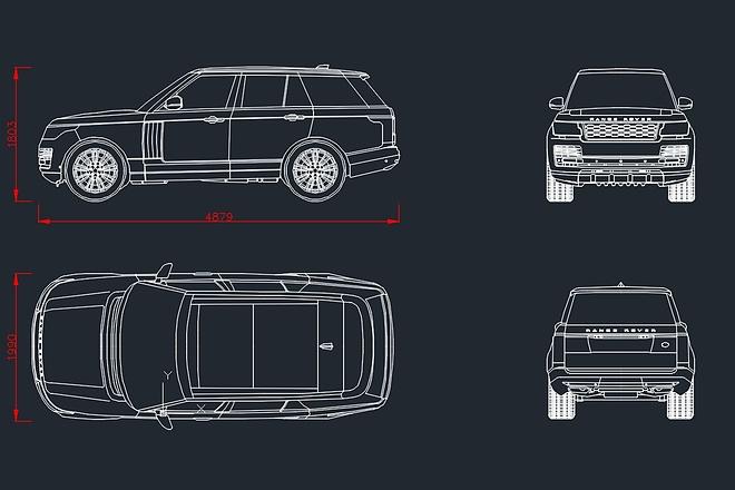 Отрисовка в AutoCAD и Corel Draw 1 - kwork.ru