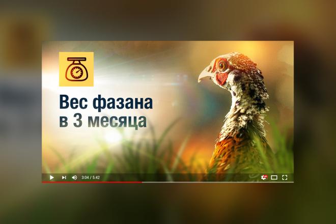 Грамотная обложка превью видеоролика, картинка для видео YouTube Ютуб 30 - kwork.ru