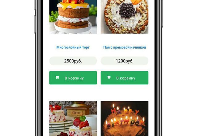 Разработка мобильного приложения под ключ 15 - kwork.ru