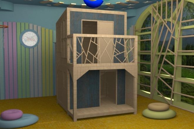 3D визуализация помещений 1 - kwork.ru