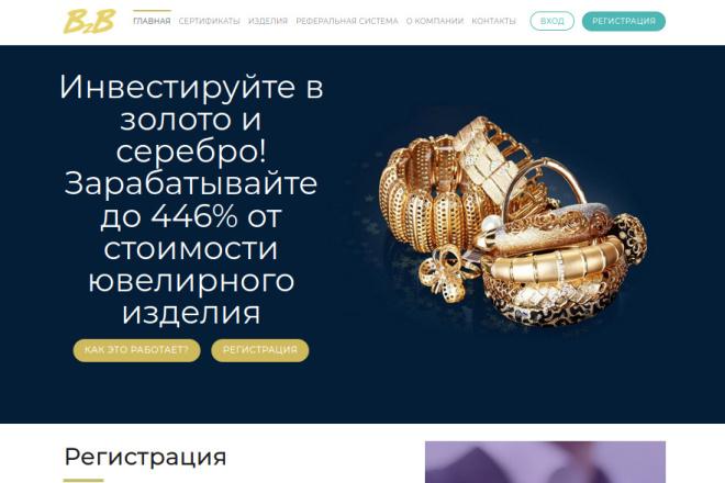 Скопирую страницу любой landing page с установкой панели управления 86 - kwork.ru