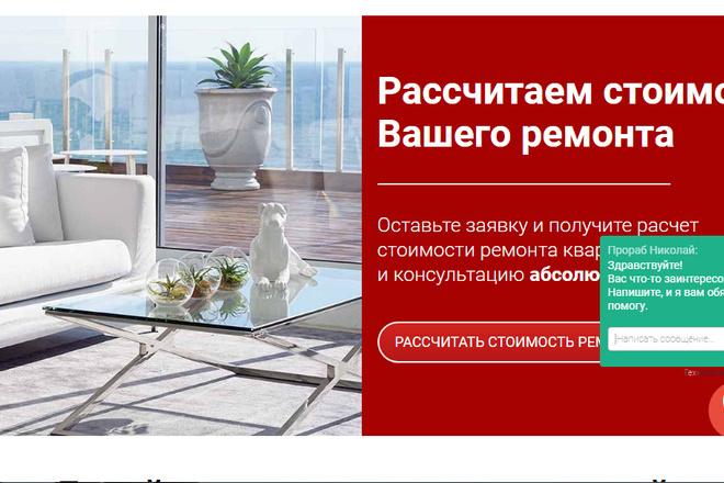 Качественная копия лендинга с установкой панели редактора 14 - kwork.ru