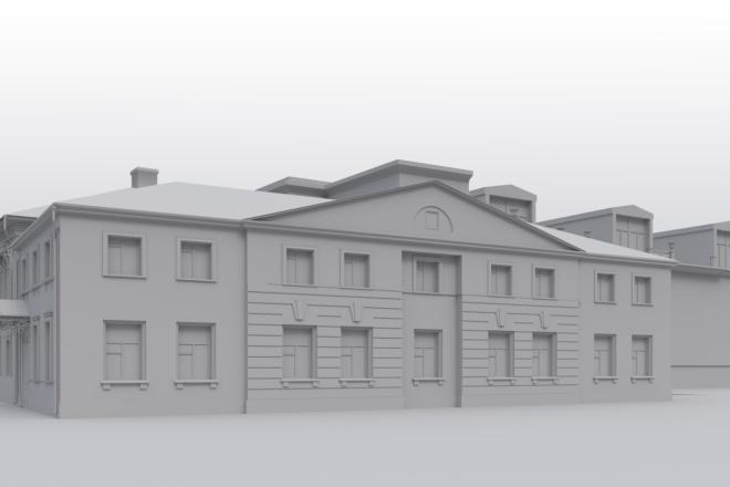Архитектурное 3d моделирование 5 - kwork.ru