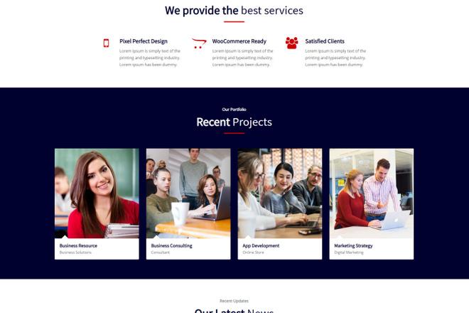 Создание сайта на WordPress 18 - kwork.ru