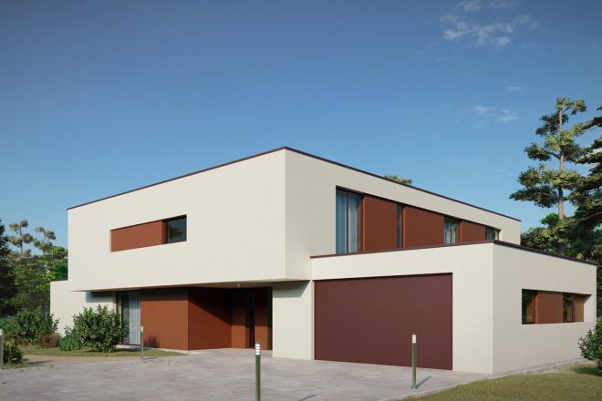 3д моделирование и визуализация экстерьеров домов 19 - kwork.ru
