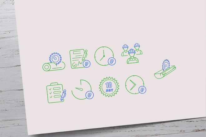 Нарисую иконки для сайта 2 - kwork.ru