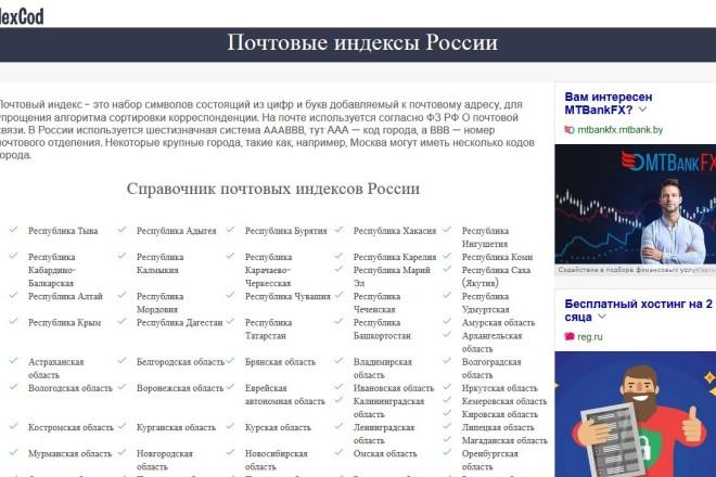 Копирование сайтов практически любых размеров 40 - kwork.ru