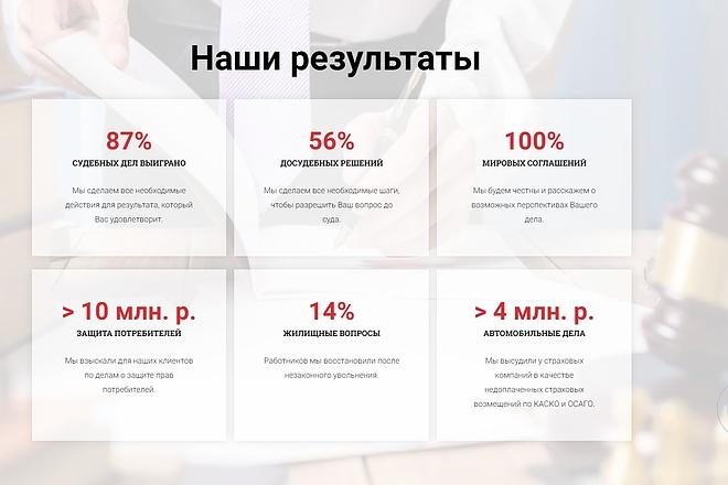 Лендинг для любых целей на Wordpress 71 - kwork.ru