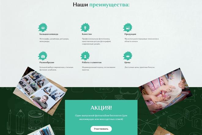Создание современного лендинга на конструкторе Тильда 21 - kwork.ru