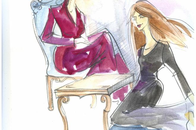 Нарисую рисунок или эскиз в ручной технике красиво и быстро 15 - kwork.ru