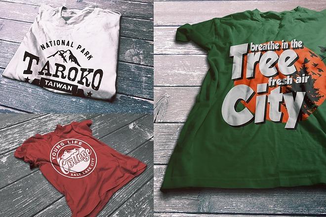 Дизайн футболки - оригинально, современно, остроумно 3 - kwork.ru