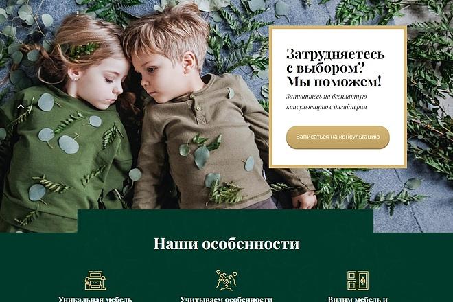 Сайт под ключ. Landing Page. Backend 255 - kwork.ru