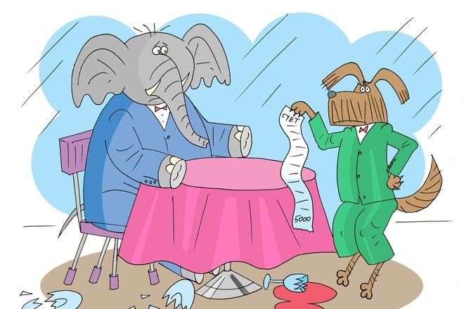 Оперативно нарисую юмористические иллюстрации для рекламной статьи 33 - kwork.ru