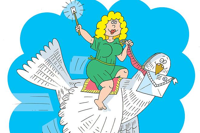 Оперативно нарисую юмористические иллюстрации для рекламной статьи 27 - kwork.ru