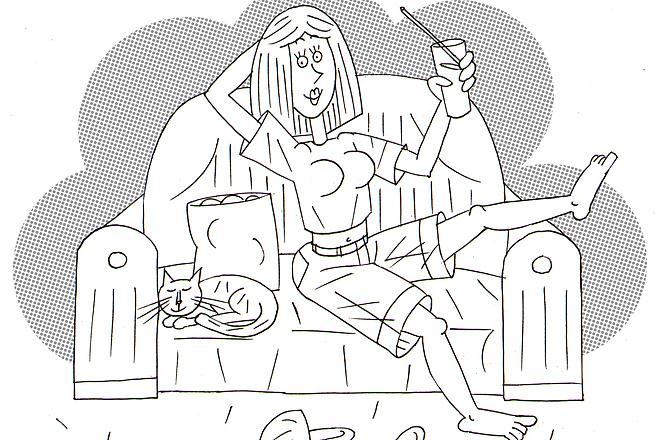 Оперативно нарисую юмористические иллюстрации для рекламной статьи 25 - kwork.ru