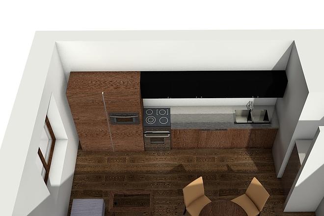 Создам планировку дома, квартиры с мебелью 63 - kwork.ru