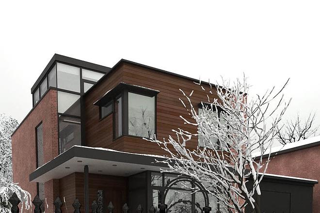 Экстерьеры. 3д модели домов 6 - kwork.ru