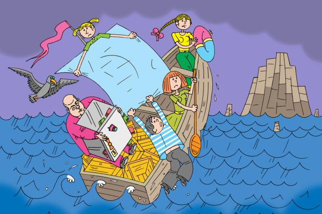 Оперативно нарисую юмористические иллюстрации для рекламной статьи 7 - kwork.ru
