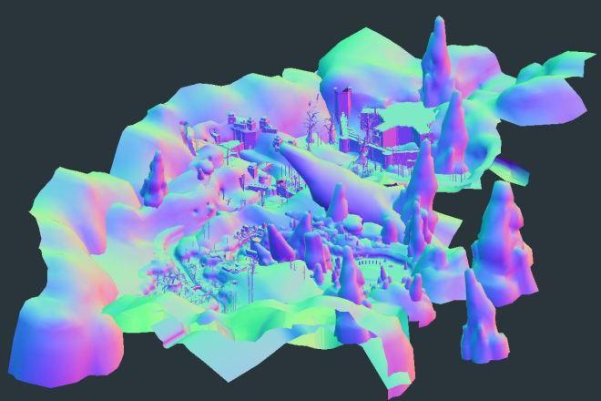 Blender l 3Д моделирование 20 - kwork.ru