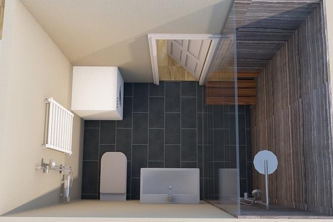 Создам планировку дома, квартиры с мебелью 55 - kwork.ru