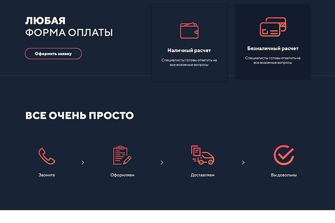 Вёрстка сайтов по доступной цене 174 - kwork.ru
