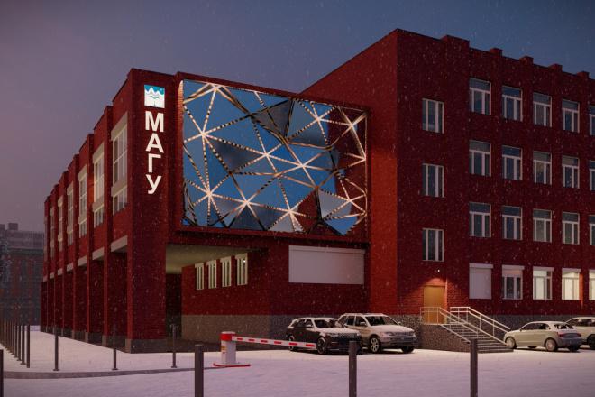 3д моделирование и визуализация экстерьеров домов 27 - kwork.ru