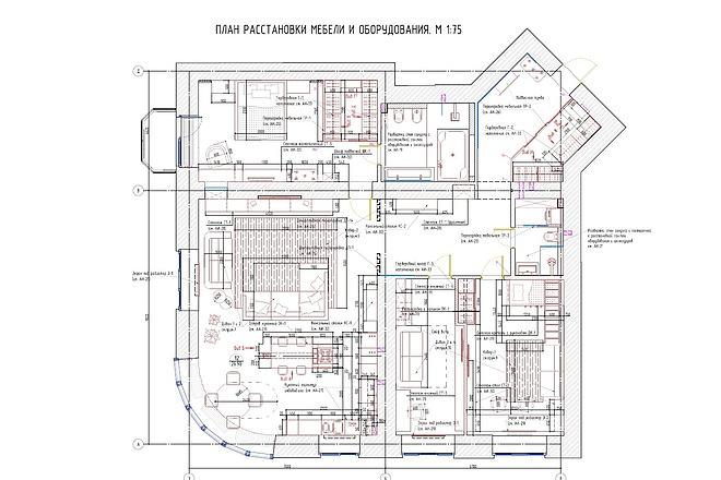 Планировочное решение вашего дома, квартиры, или офиса 43 - kwork.ru