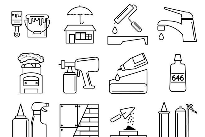 Нарисую 6 иконок в любом стиле 5 - kwork.ru