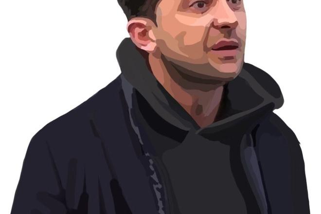 Нарисую портрет в растровой или векторной графике 7 - kwork.ru
