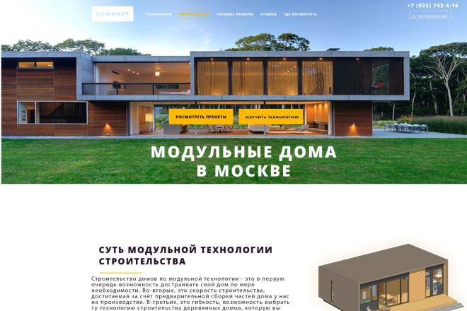 Создам продающий лендинг 2 - kwork.ru